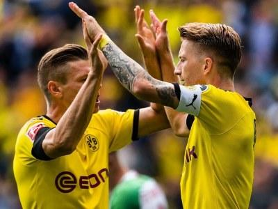 Футбол боруссия дортмунд сегодня