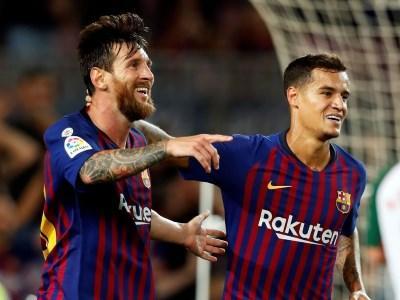 Футбол испании матчи барселоны