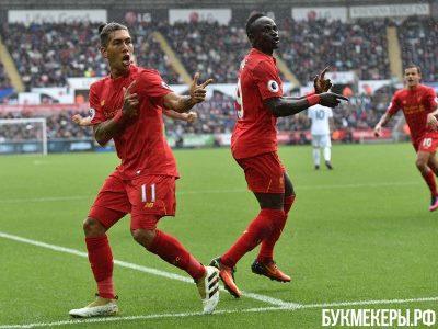 Старридж помог «Ливерпулю» побороть «Тоттенхэм» ивыйти в ¼ финала Кубка лиги