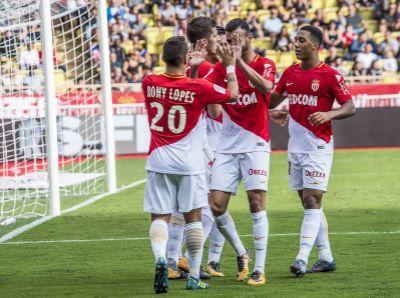 «Монако» разгромил вгостях «Сент-Этьен»