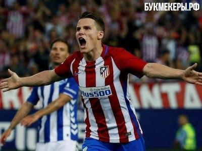 «Атлетико» разгромил «Сельту» вчемпионате Испании, Гризманн оформил дубль
