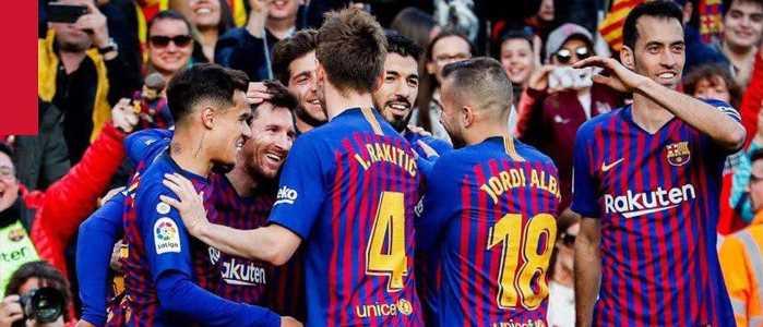1xBet – глобальный партнер «Барселоны»