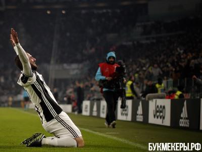 «Ювентус» вдомашнем матче разгромил «Палермо»